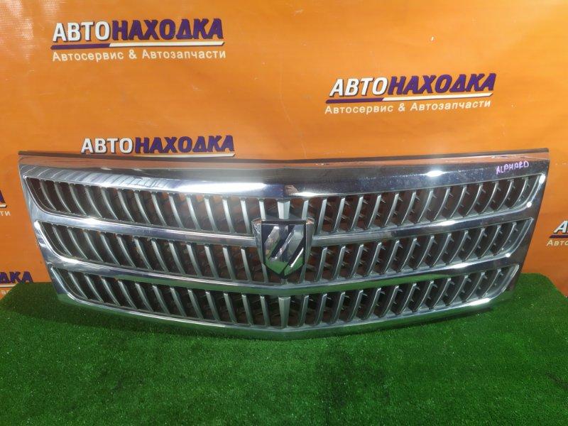 Решетка радиатора Toyota Alphard MNH10 1MZ-FE 53101-58010