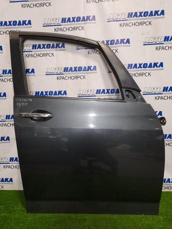 Дверь Mazda Biante CCEFW LF-VDS 2008 передняя правая Передняя правая, без стекла, стеклоподъемника