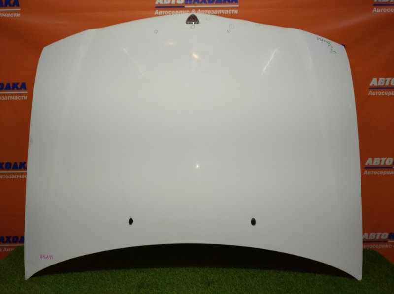 Капот Nissan Wingroad WFY11 QG15DE 1999 есть царапины/ мятины на ребре в районе решетки