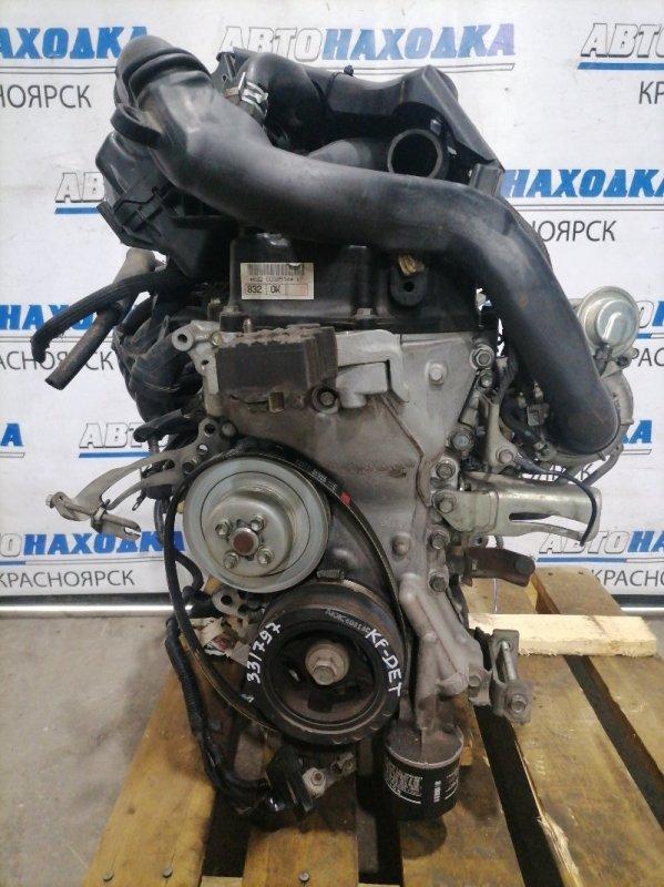 Двигатель Daihatsu Sonica L405S KF-DET 2006 0038514 № 0038514, турбо. Без навесного. На ДВС есть турбина,