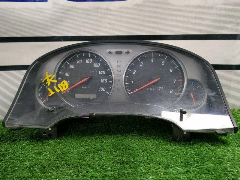 Щиток приборов Toyota Mark Ii Blit GX110W 1G-FE 2002 157510-6950 с фишкой, А/Т, есть потертость стекла