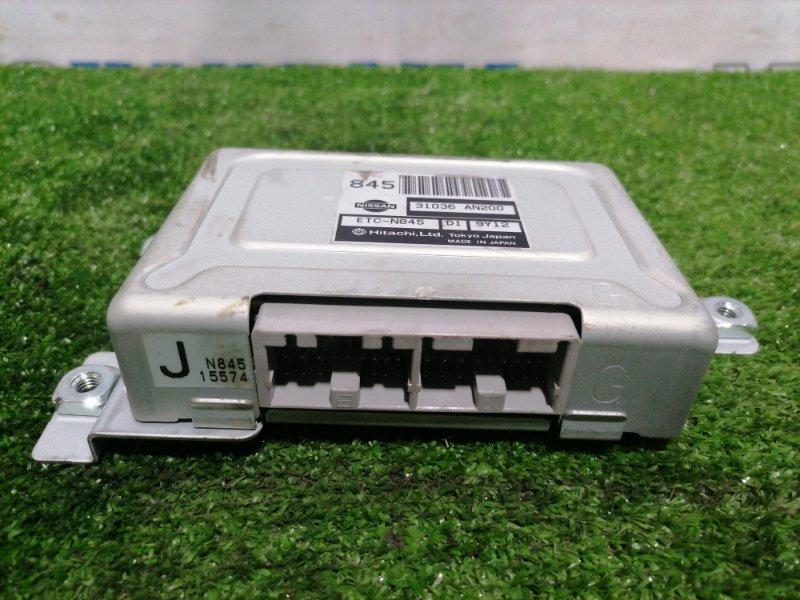 Компьютер Nissan Cube AZ10 CGA3DE 1998 блок управления АКПП (простой автомат)