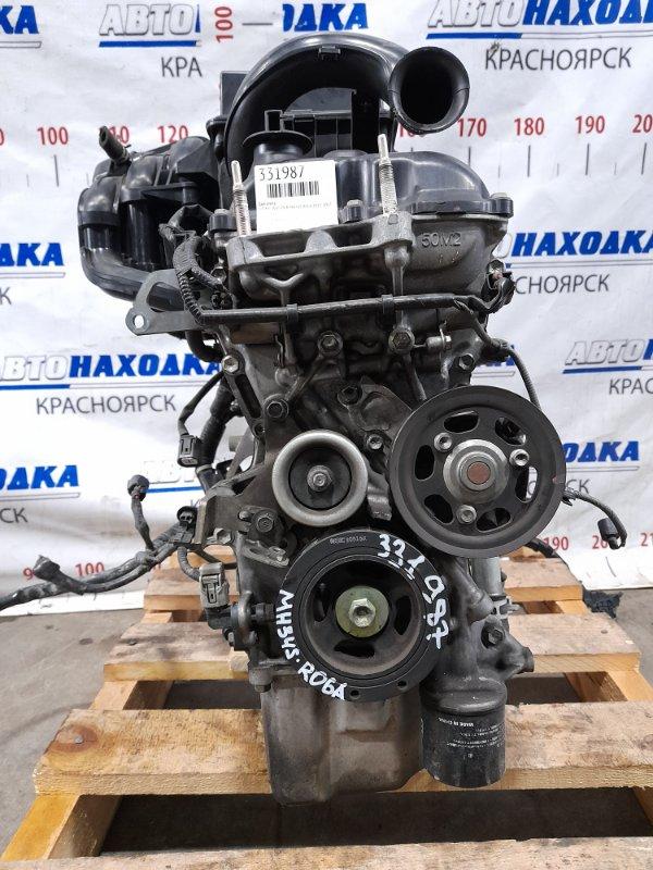 Двигатель Suzuki Wagon R MH34S R06A 2012 A170950 № A170950 пробег 66 т.км. Есть видео работы ДВС. Без
