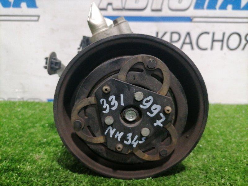 Компрессор кондиционера Suzuki Wagon R MH34S R06A 2012 пробег 66 т.км.