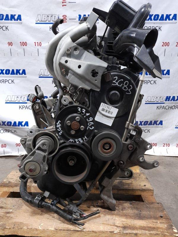Двигатель Mitsubishi Ek Wagon H82W 3G83 2006 598009 № 598009 пробег 61 т.км. 2008 г.в. Есть видео работы ДВС.