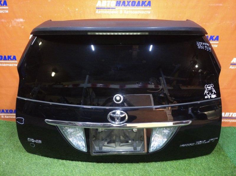 Дверь задняя Toyota Mark Ii Blit JZX110W 1JZ-FSE 2002 есть 2 небольшие вмятины и царапина /+спойлер(в