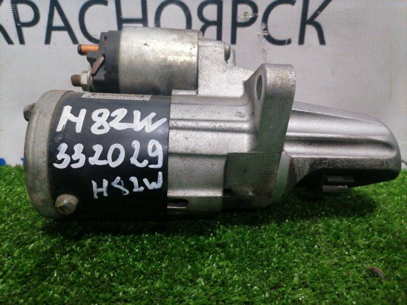 Стартер Mitsubishi Ek Wagon H82W 3G83 2006 M000T31371 пробег 67 т.км.