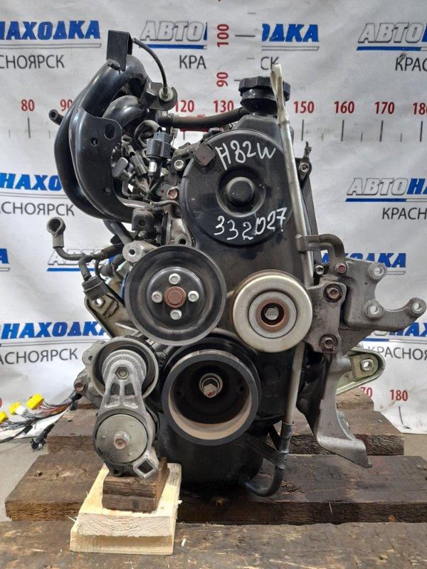 Двигатель Mitsubishi Ek Wagon H82W 3G83 2006 272231 № 272231 пробег 67 т.км. 11.2012 г.в. Есть видео работы