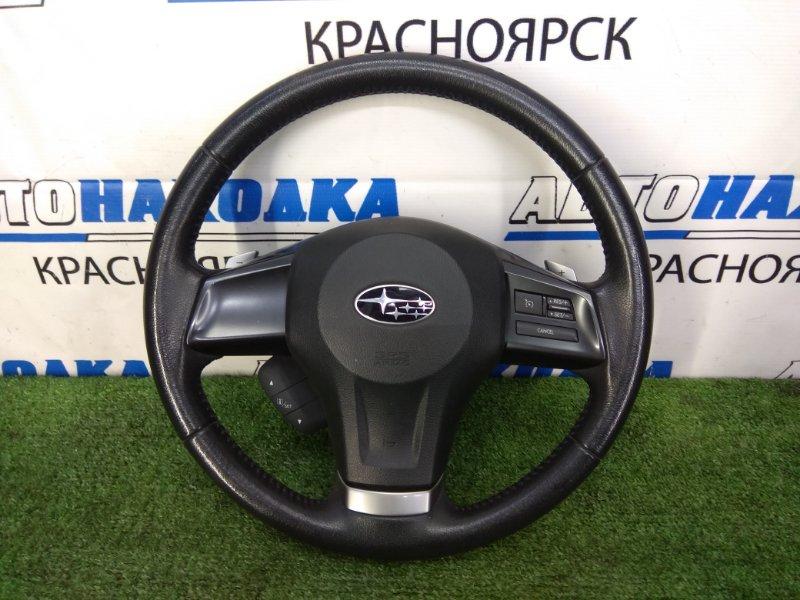 Airbag Subaru Impreza GJ6 FB20 2011 ОТС, Водительский, с мультирулём, с переключателями, без