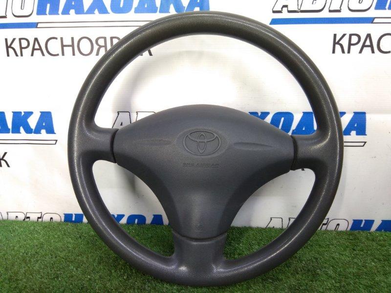 Airbag Toyota Funcargo NCP20 2NZ-FE 1999 Водительский, с рулём, без заряда, тёмно- серый SHADOW GRAY,TRIM9#