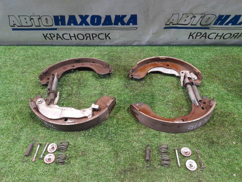 Колодки тормозные Nissan Juke YF15 HR15DE 2010 задние GS01264 задние, барабанные, комплект с