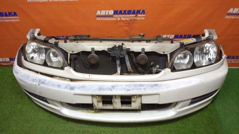 Ноускат Toyota Ipsum SXM10 3S-FE 1998 44-25 2мод бампер под покраску+заглушки+планка под фары(есть