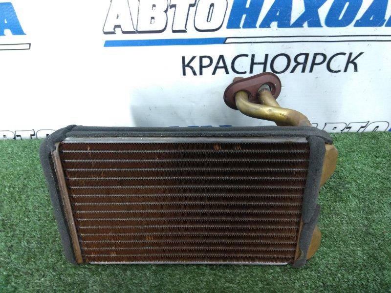 Радиатор печки Toyota Corona Exiv ST182 3S-FE 1991 ХТС, медный