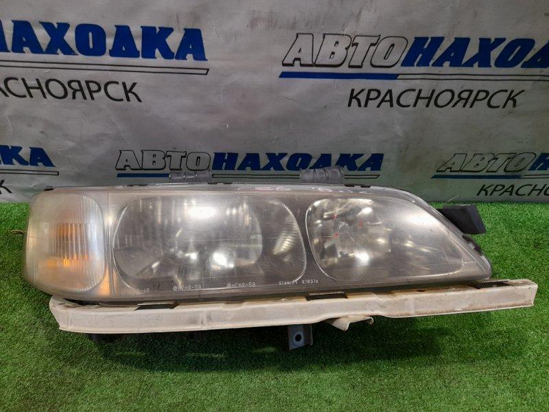 Фара Honda Accord CF6 F23A 2000 передняя правая R7637 Правая, под ксенон, без блока и лампы R7637, с