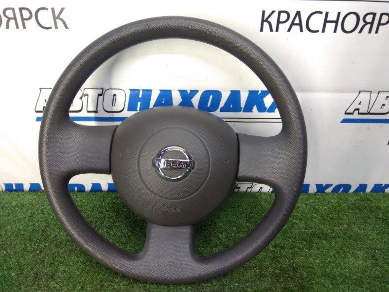 Airbag Nissan March AK12 CR12DE 2002 правый ХТС, водительский, с рулем, с подушкой, без заряда