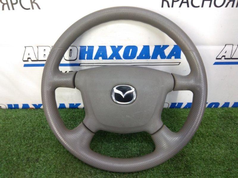 Airbag Mazda Premacy CP8W FP-DE 1999 правый водительский, с рулем, с подушкой, без заряда,