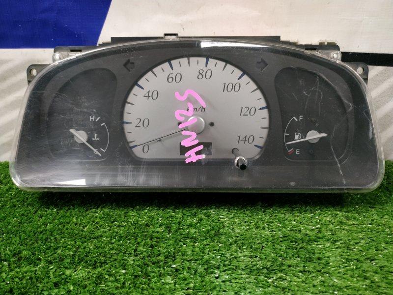 Щиток приборов Suzuki Kei HN12S F6A 2000 А/Т, есть потертость стекла