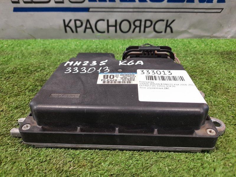Компьютер Suzuki Wagon R MH23S K6A 2008 E6T90572H блок управления ДВС