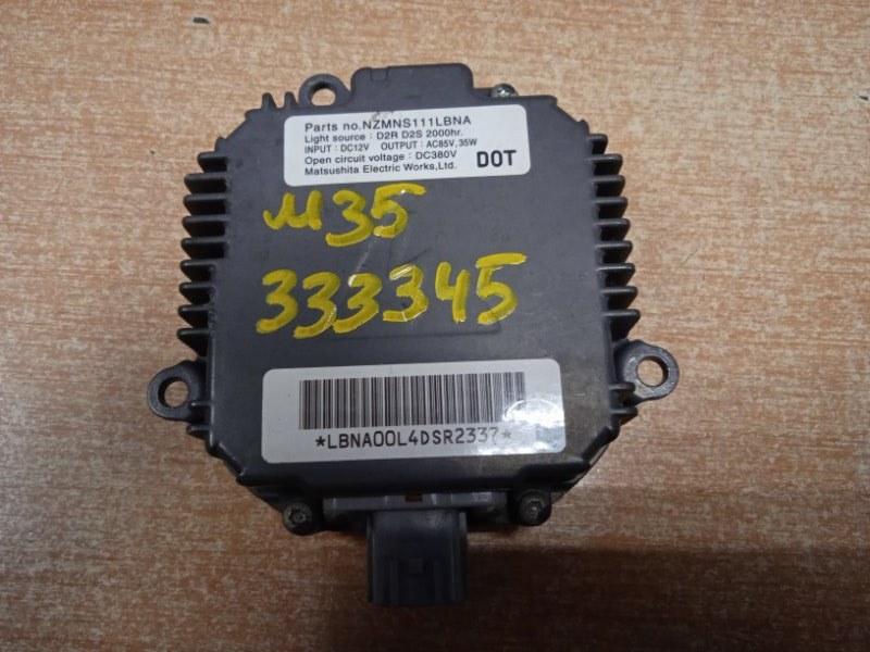 Блок розжига ксенона Nissan Stagea M35 VQ25DD NZMNS111LBNA