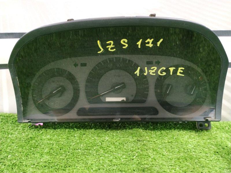 Щиток приборов Toyota Crown Athlete JZS171 1JZ-GTE 1999 дефект одного крепления
