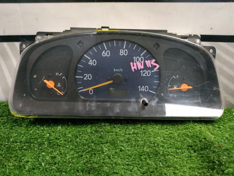 Щиток приборов Suzuki Kei HN11S F6A 2000 без тахометра, дефект стекла