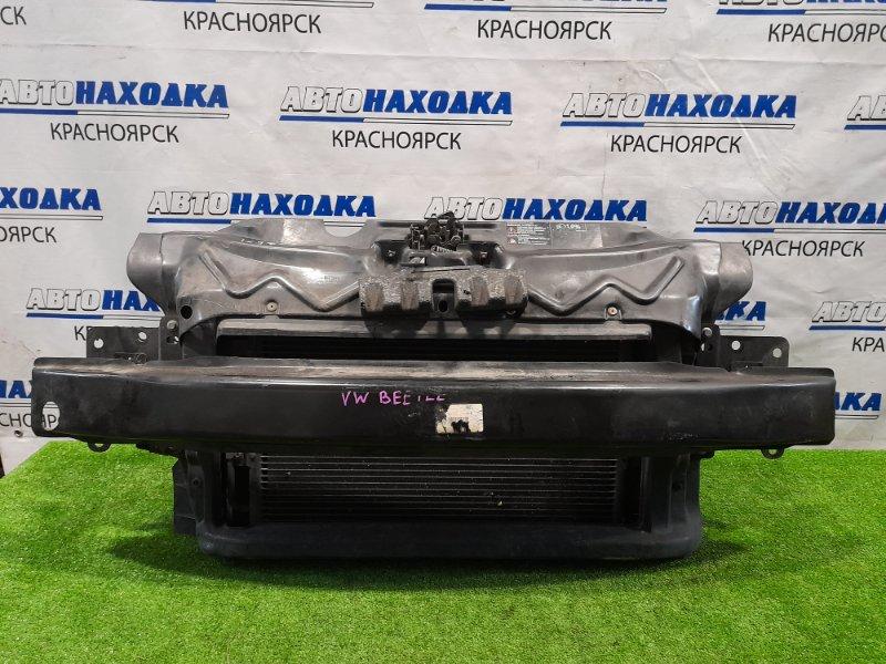 Рамка радиатора Volkswagen Beetle 9C1 AZJ 1997 в сборе с радиаторами, усилителем, замком капота.