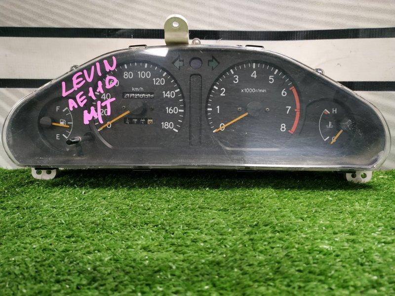 Щиток приборов Toyota Corolla Levin AE110 5A-FE 1995 Под МКПП, с фишками