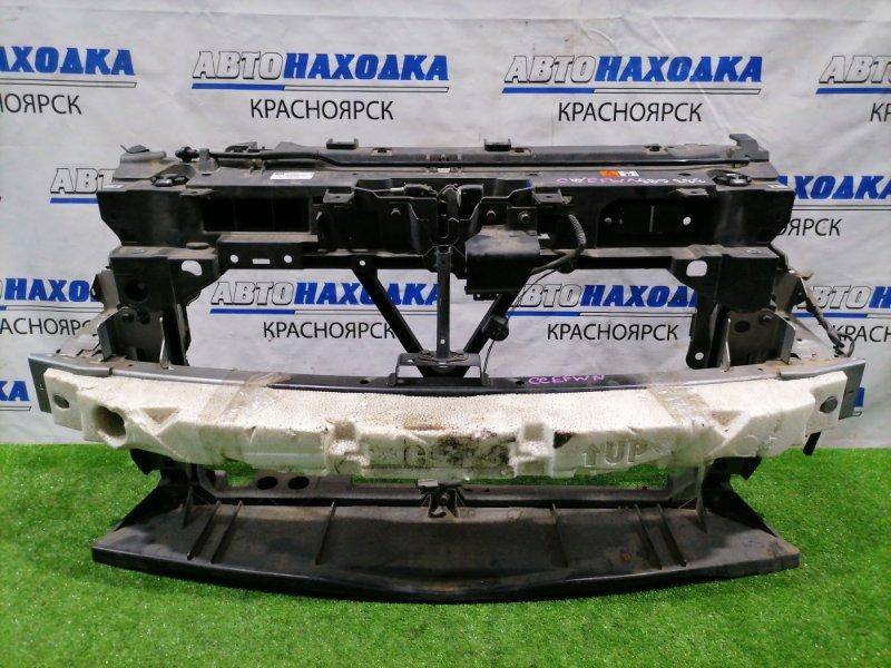 Рамка радиатора Nissan Lafesta CWEFWN LF-VD 2011 пластиковая с усилителем и замком капота