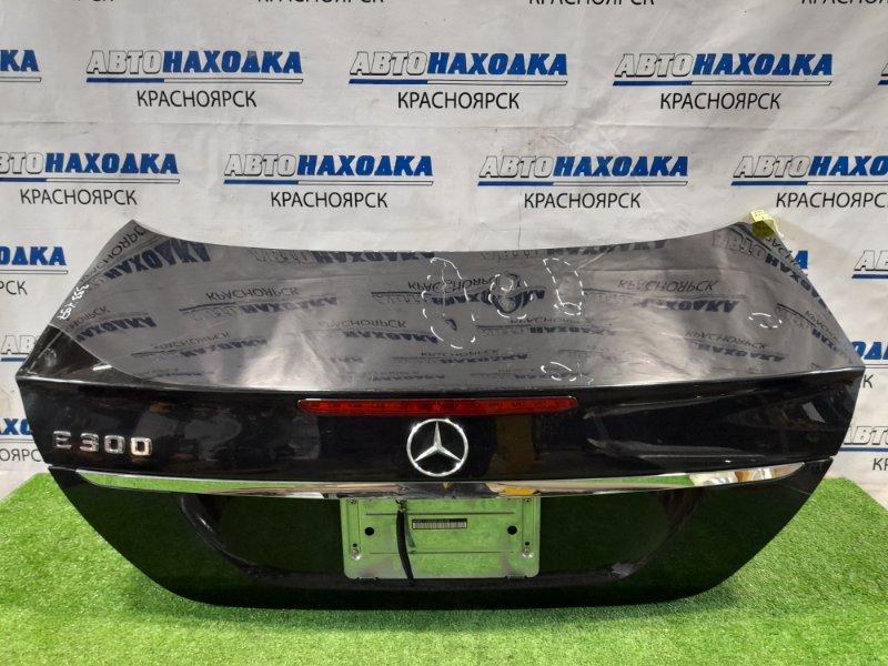 Крышка багажника Mercedes-Benz E300 W211 M272E30 2006 задняя в сборе, рестайлинг, есть вмятины на