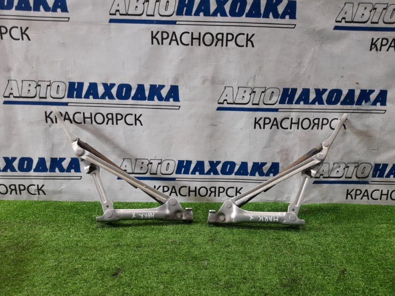 Кронштейн багажника Toyota Mark X GRX120 4GR-FSE 2004 задний пара L+R в комплекте с амортизаторами