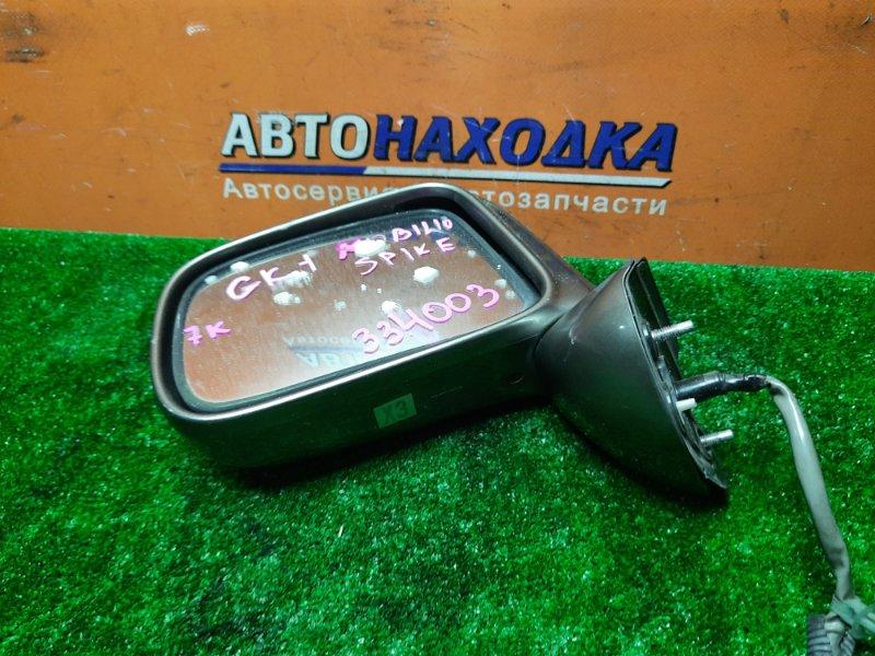 Зеркало Honda Mobilio Spike GK1 L15A переднее левое 7 КОНТАКТОВ
