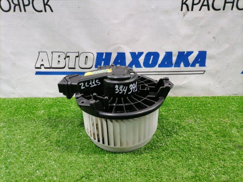 Мотор печки Suzuki Swift ZC11S M13A 2004 272700-0301 2 контакта, крыльчатка под правый руль