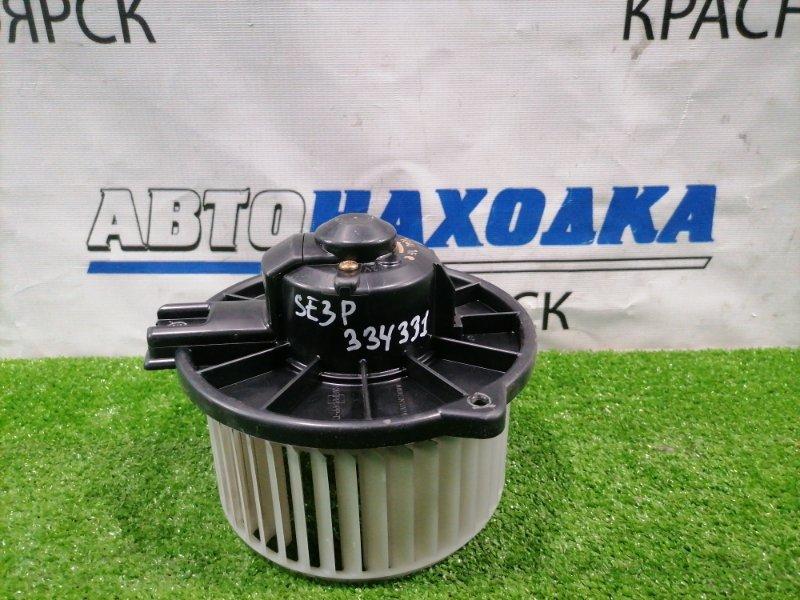 Мотор печки Mazda Rx-8 SE3P 13B-MSP 2003 194000-1040 правый руль, 2 контакта