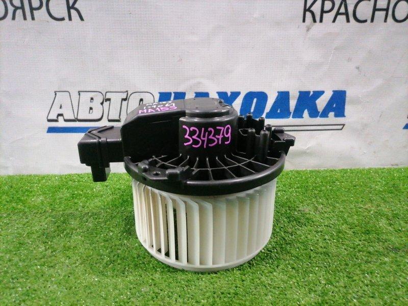 Мотор печки Suzuki Solio MA15S K12B 2010 872700-1080 2 контакта