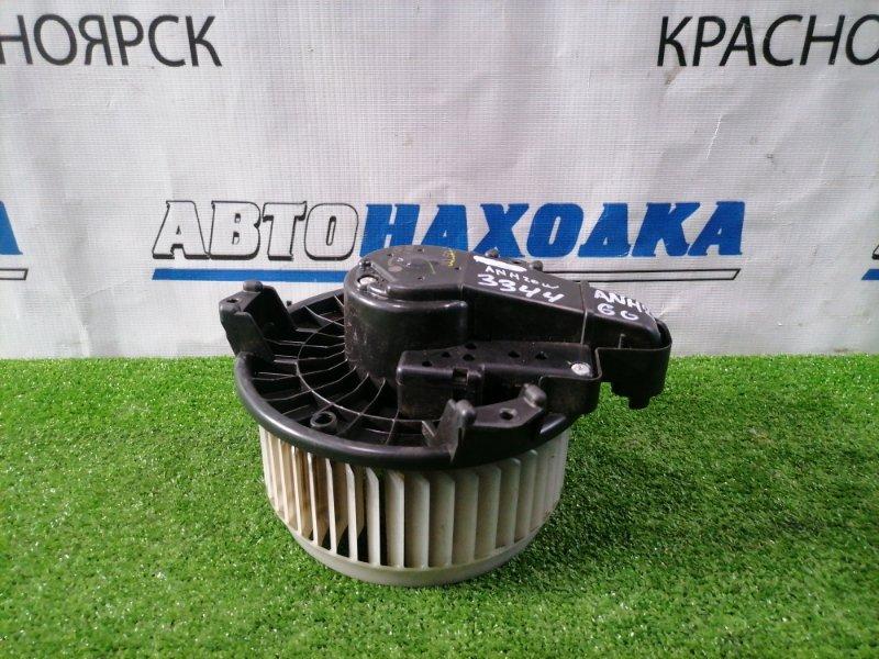 Мотор печки Toyota Alphard ANH20W 2AZ-FE 2008 8050 с встроенным реостатом, 3 контакта, крыльчатка