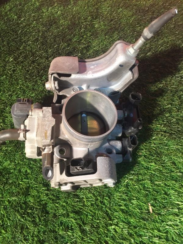Заслонка дроссельная Honda Edix BE3 K20A 2004 механическая