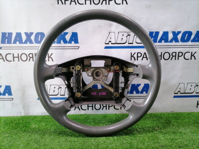 Руль Toyota Corolla Spacio AE111N 4A-FE 1997 серый, без airbag
