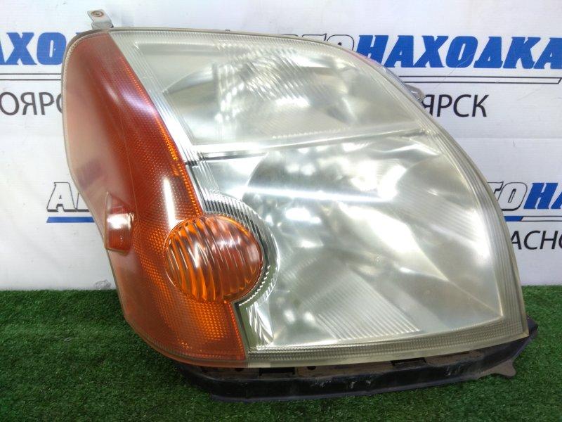 Фара Honda Mobilio GB1 L15A 2001 передняя правая 100-22433 правая, галоген, 1 модель (дорестайлинг), с