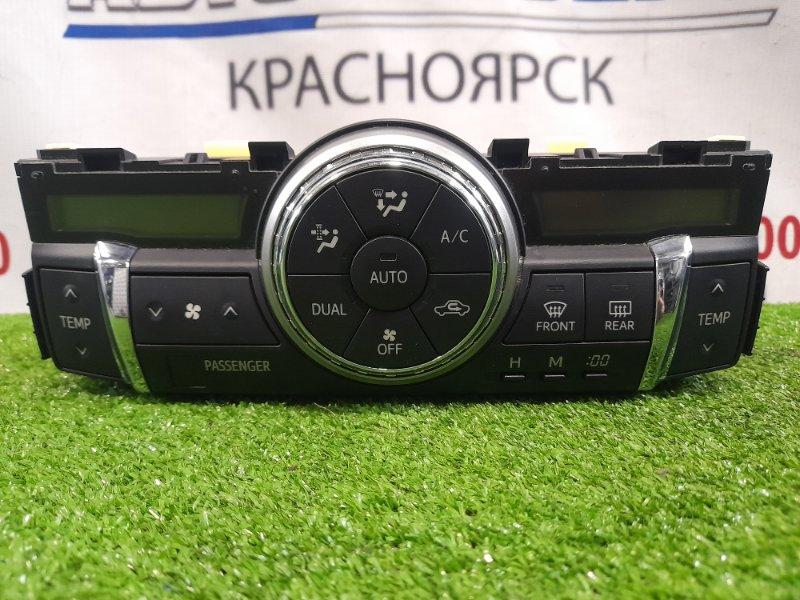 Климат-контроль Toyota Mark X GRX130 4GR-FSE 2009