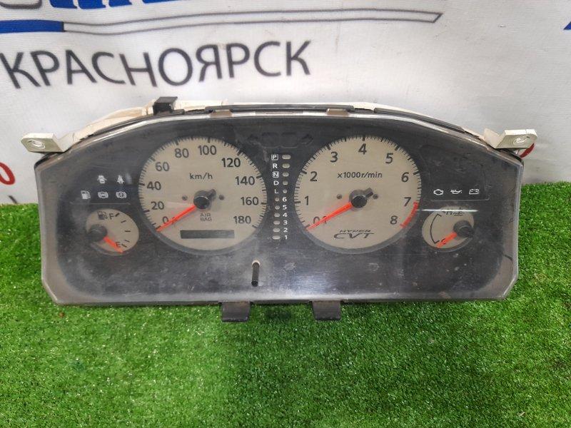 Щиток приборов Nissan Primera WHP11 SR20DE 1997 6J103 CVT, белый фон