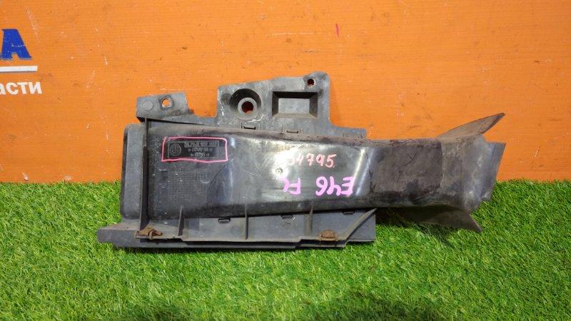 Воздухозаборник Bmw 3-Series E46/3 M43B19TU 1999 передний левый