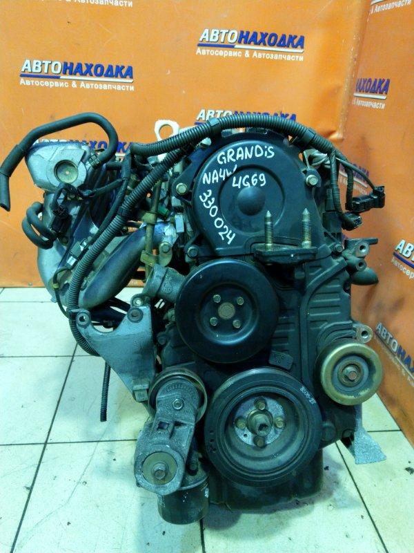 Двигатель Mitsubishi Grandis NA4W 4G69 HY3231 БЕЗ НАВЕСНОГО. 80т.км