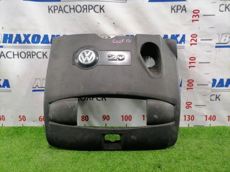 Крышка двигателя Volkswagen Golf 1J1 AZJ 1997 декоративная накладка двигателя, есть царапины,