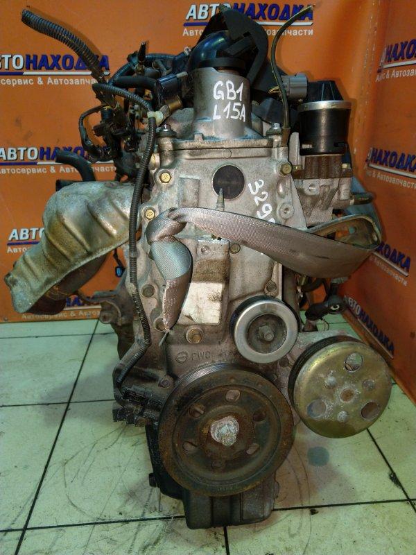 Двигатель Honda Mobilio GB1 L15A 2003 2111608 63T.KM, 8-МИ КАТУШЕЧНЫЙ. БЕЗ НАВЕСНОГО.