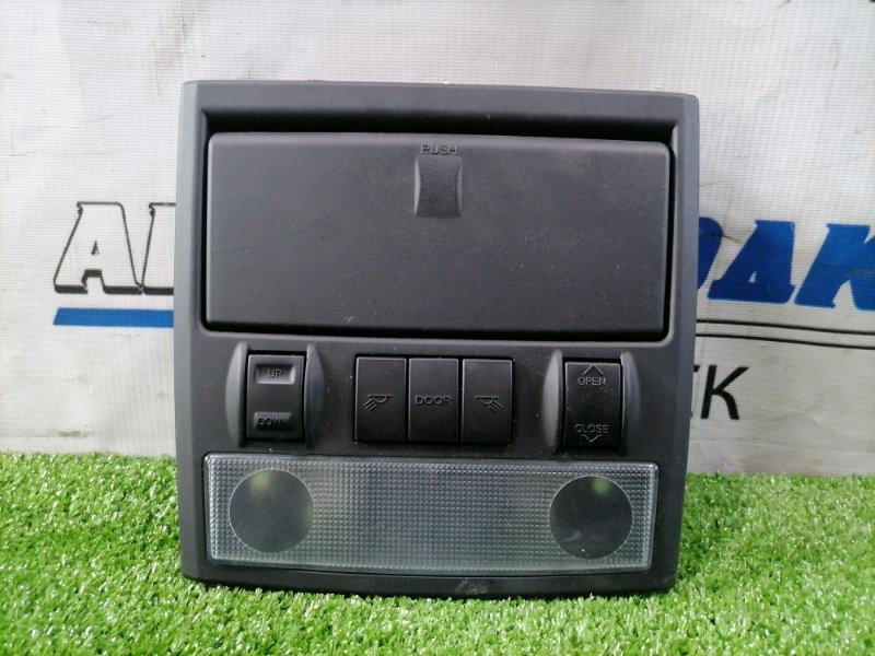 Плафон салона Hyundai Coupe GK G6BA 2002 передний 92810-2C000 в сборе с подочечником, кнопками