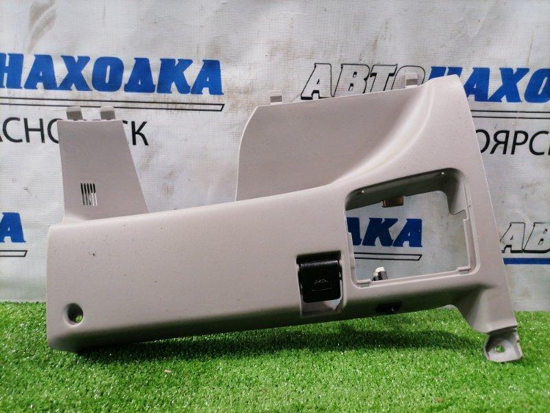 Накладка пластиковая в салон Toyota Corolla Spacio AE111N 4A-FE 1997 нижняя 55434-13010 облицовка под