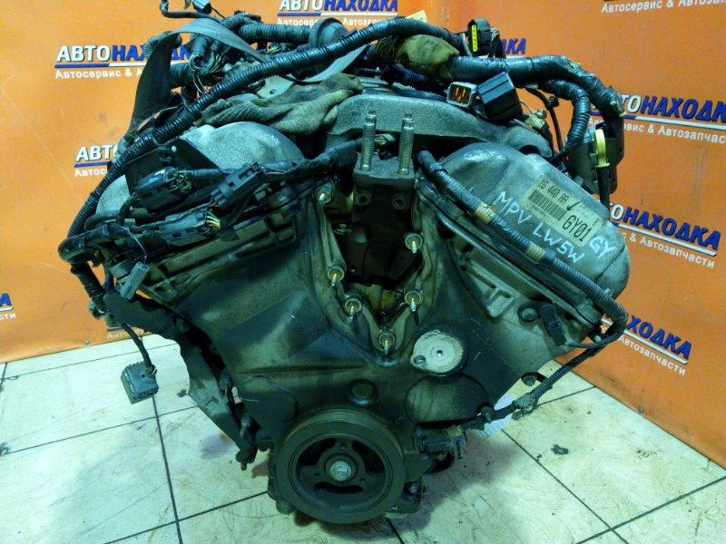 Двигатель Mazda Mpv LW5W GY 388497 БЕЗ НАВЕСНОГО.