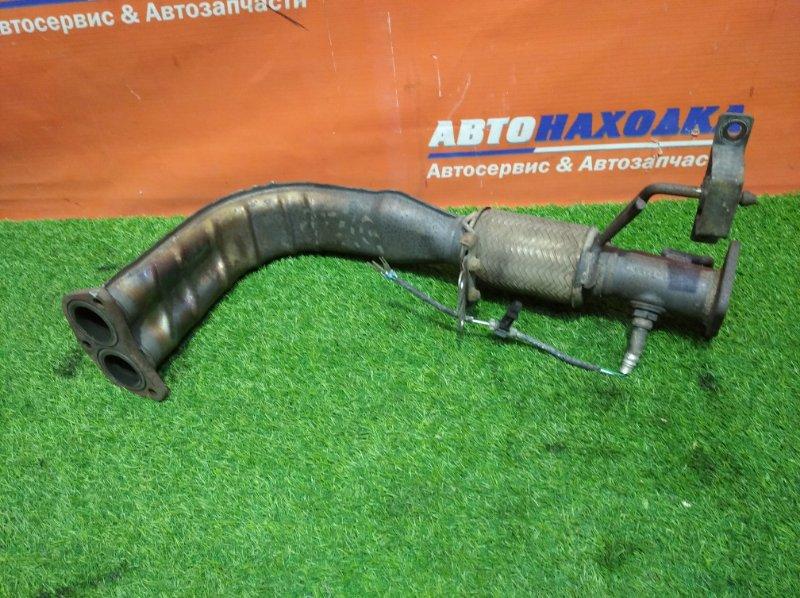 Труба приемная Honda Odyssey RA6 F23A 1998 +лямбда дефект+подушка глушителя