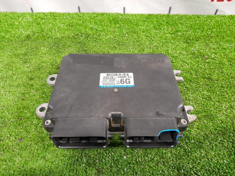 Компьютер Suzuki Jimny JB23W K6A 1998 E6T91075HV Блок управления ДВС. Незначительный скол правого