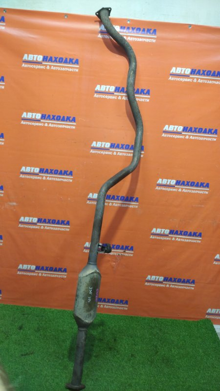 Глушитель Mitsubishi Airtrek CU2W 4G63 2001 средняя часть с резонатором